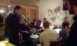 CJ at the Sperber Brau jam session