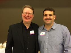 with Jeff Cortazzo