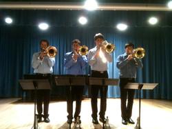 Indiana Trombone Quartet Recital