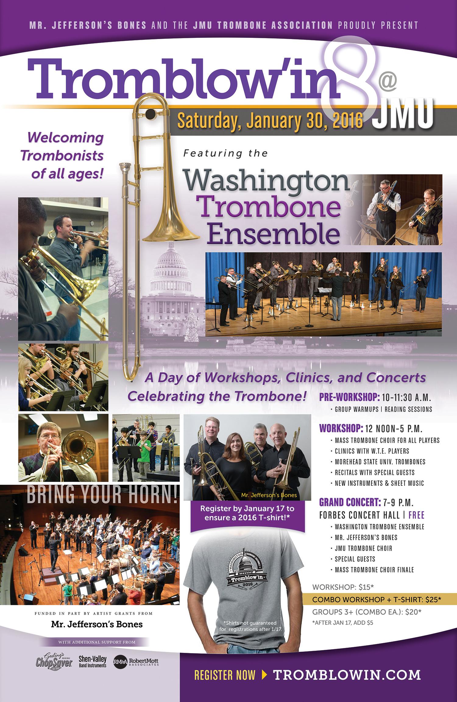 Tromblow'in 8 Poster
