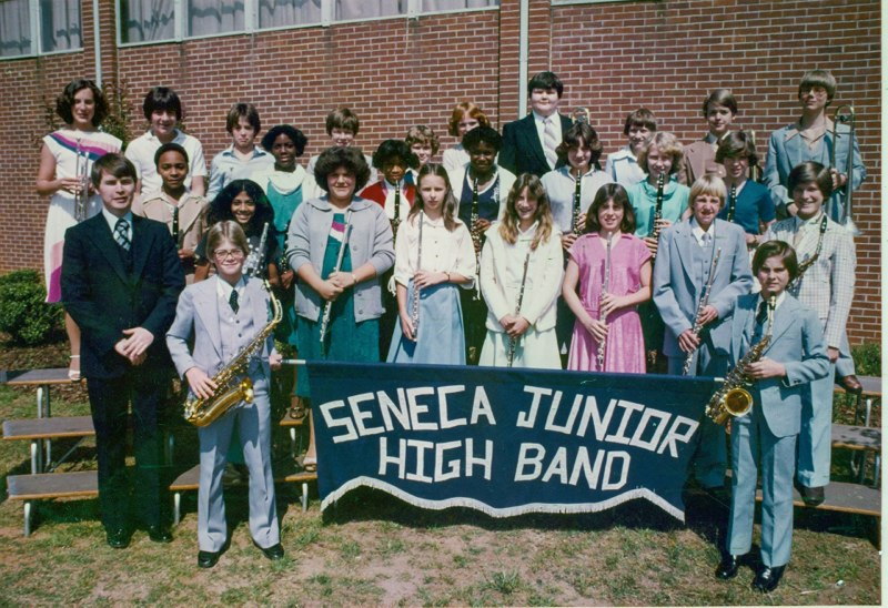 Seneca Junior High Band (1979)