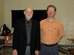 with Ron Barron