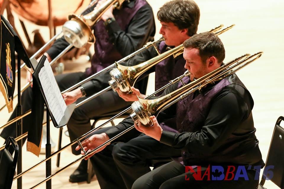JMU Brass Band Trombones