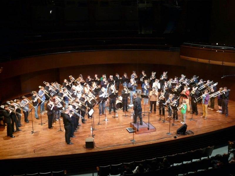 Mass Trombone Choir