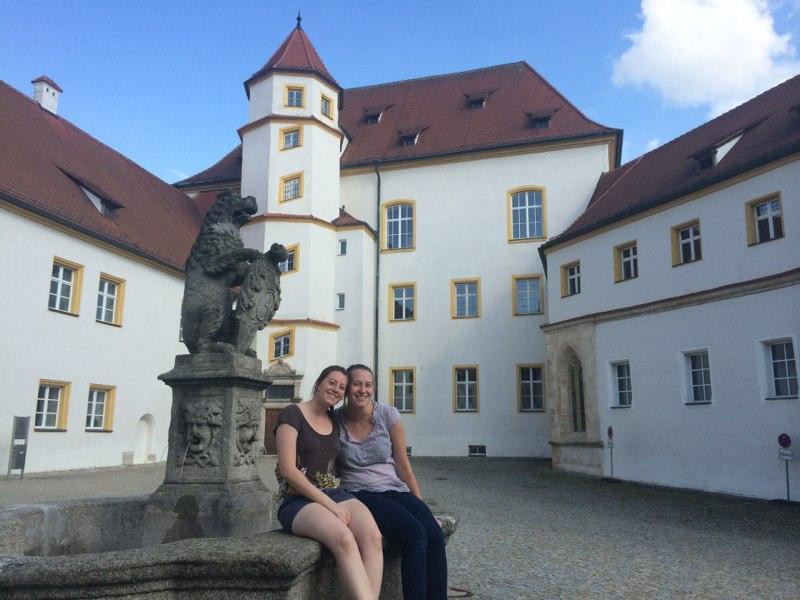 Becca & Grace in Sulzbach-Rosenberg