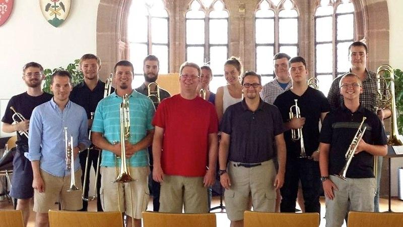 JMU Trumpets and Trombones