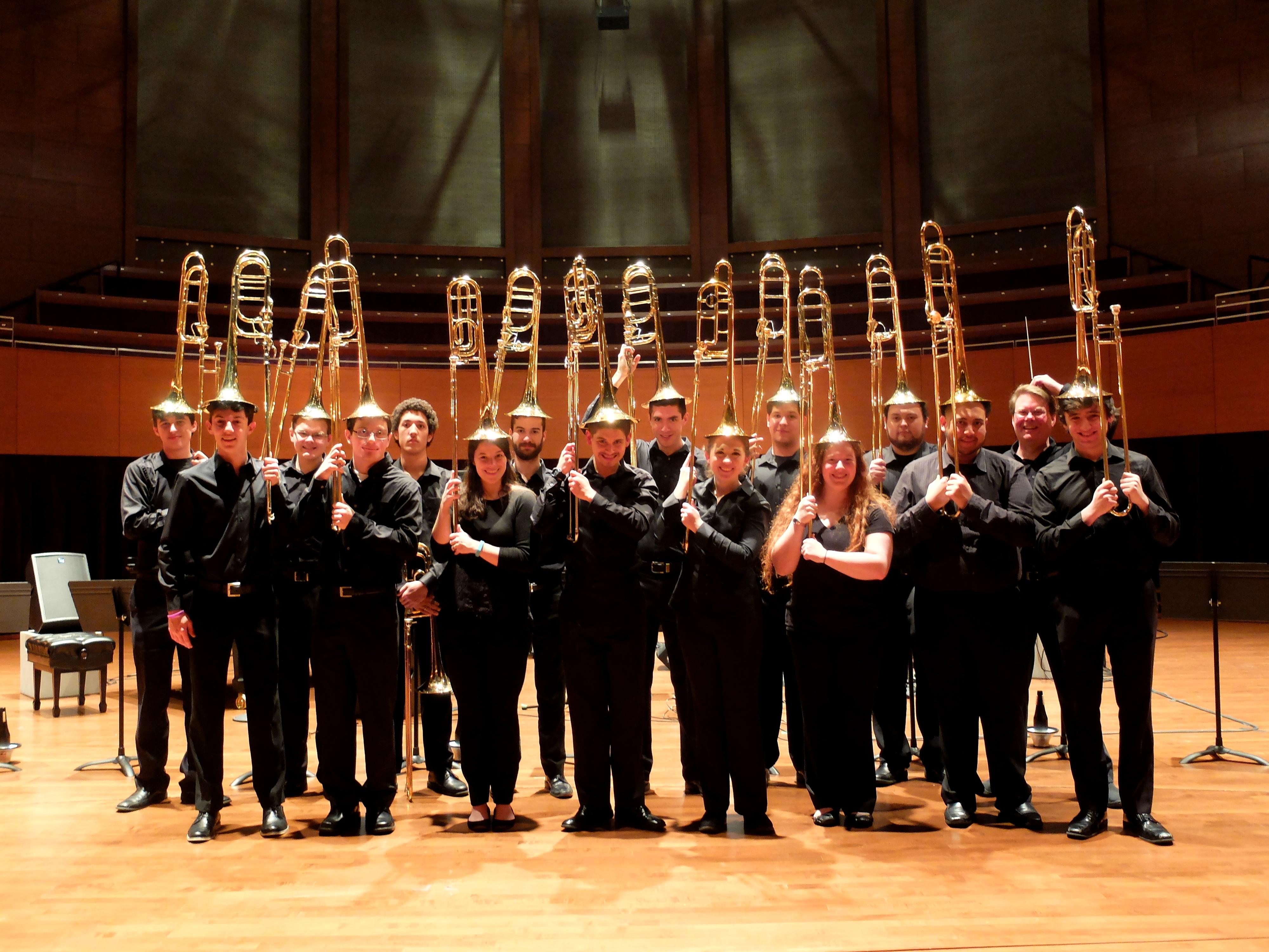 Silly Trombone Choir