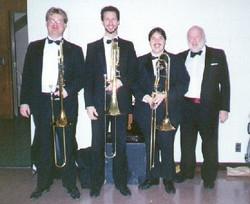 KU Symphony Trombones with Priestman