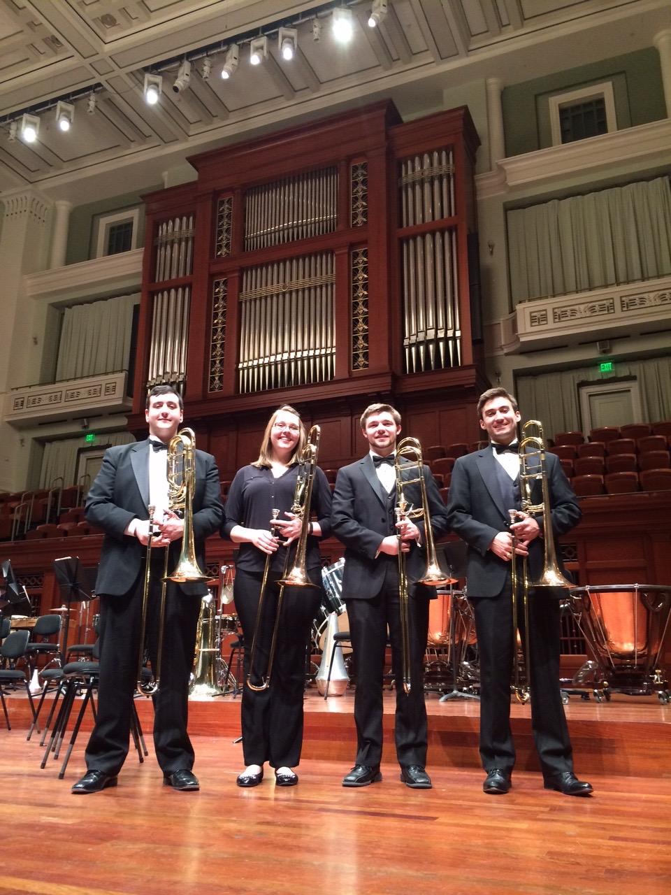 JMU Wind Symphony Trombones