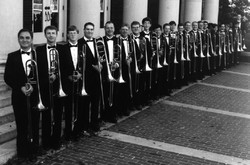 6th from left with UNCG Bones