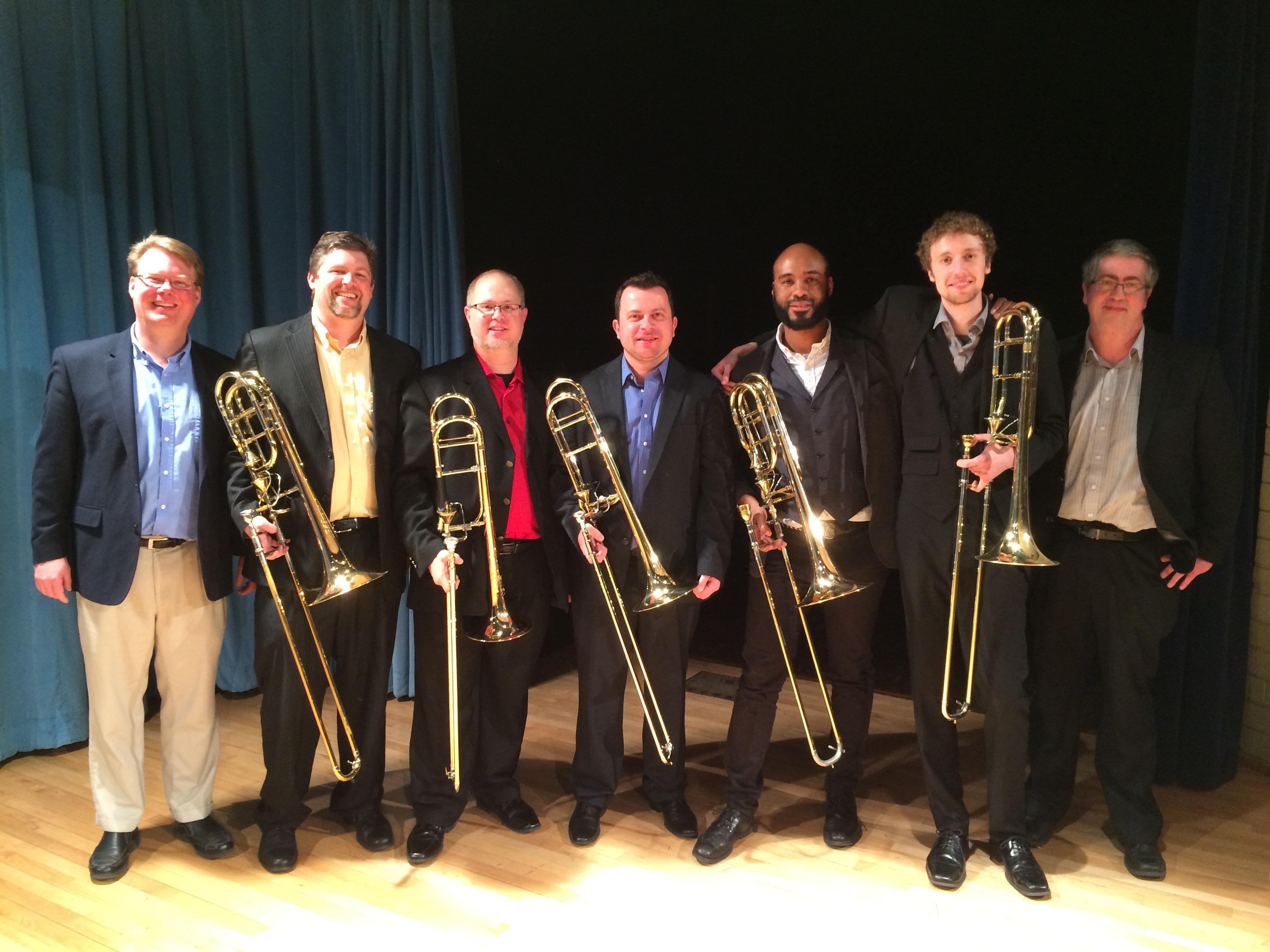 American Trombone Quartet Recital