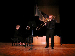 Recital at Univ. of Southern Miss.