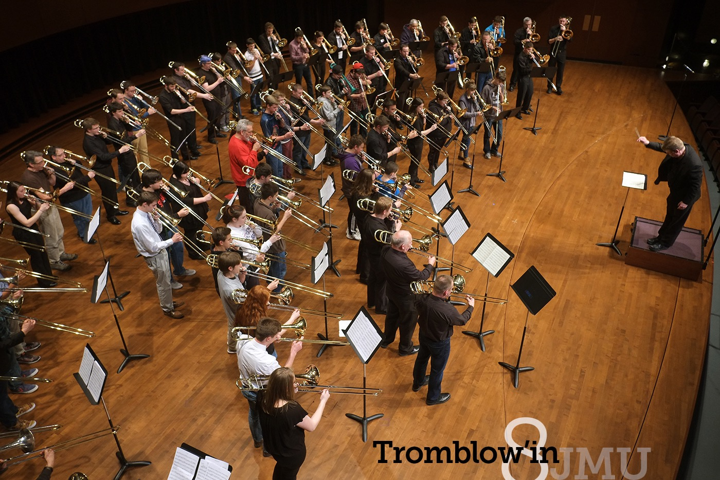 Tromblow'in 8 Mass Trombone Choir