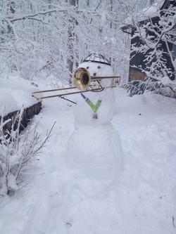 Becca's Snowman