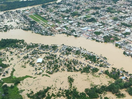 Chuva: já sofrendo com enchentes, Acre receberá mais 150 mm em 15 dias