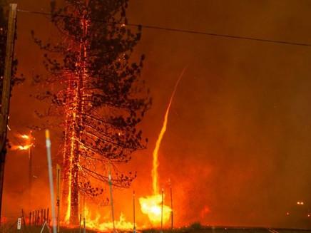 As destruidoras tempestades criadas por grandes queimadas