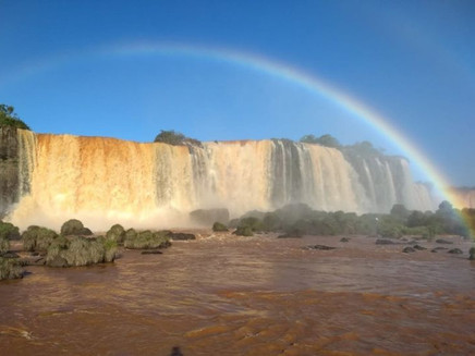 Cataratas do Iguaçu voltam a normalidade após chuvas no Sul