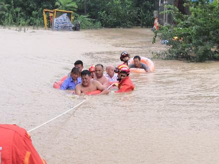 Enchentes e tempestades dominaram os desastres naturais nos últimos 50 anos