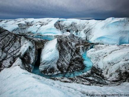 Pico mais alto da Groenlândia tem chuva inédita