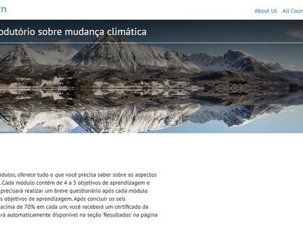 Curso sobre mudanças climáticas online e gratuito é lançado pela ONU