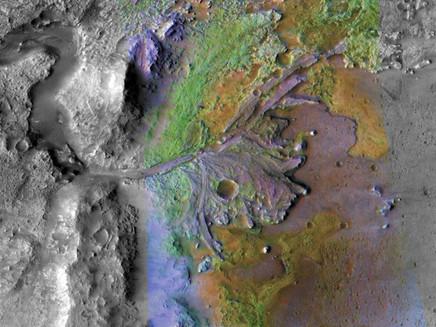 Clima no início de Marte era intermitentemente quente