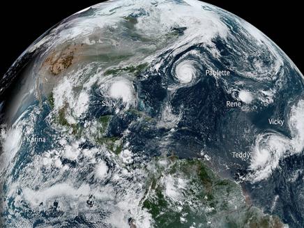 Temporada de Furacões de 2020 no Atlântico foi a mais ativa já registrada