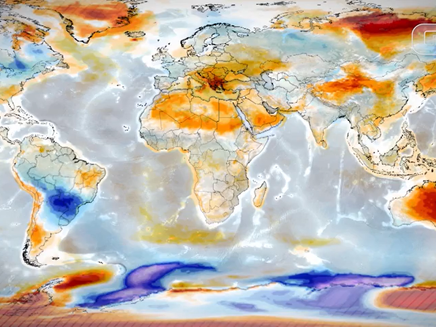 Relatório do clima destaca que seca no Nordeste e temporais no Sul irão piorar