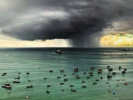 Fortaleza registra suas maiores chuvas do ano entre sábado (14) e domingo (15)