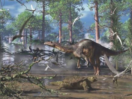 Clima estimulou migração de dinossauros do Brasil à Groenlândia