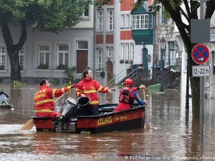 Inundações catastróficas na Alemanha são o novo normal?