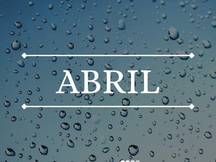 Abril - Veja o que a meteorologia prevê para o novo mês