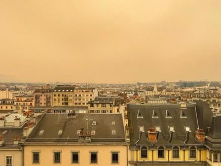 Tempestade de areia e poeira atinge a Europa