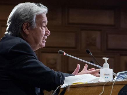 """COP-26: ONU pede a líderes que façam todo o possível para marcar """"ponto de virada"""""""