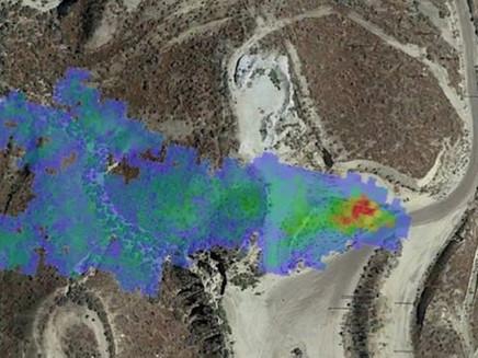 A luta para combater 'nuvens' de metano tão grandes que podem ser vistas do espaço