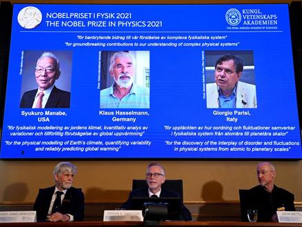 Nobel de Física 2021 vai para cientistas que contribuíram para modelos do aquecimento global