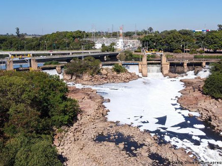 Mudanças climáticas põem hidrelétricas em xeque