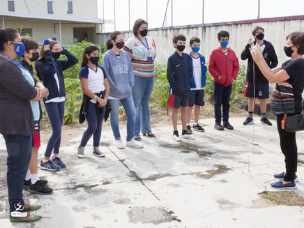 Tempo de Aprender em Clima de Ensinar instala estação meteorológica no Colégio Castelo em Macaé