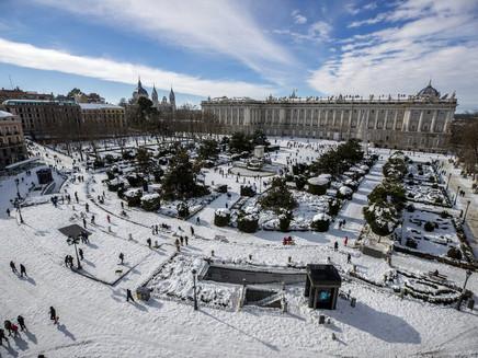 Ondas de frio, nevascas e inverno rigoroso na Europa estão ligados às mudanças climáticas