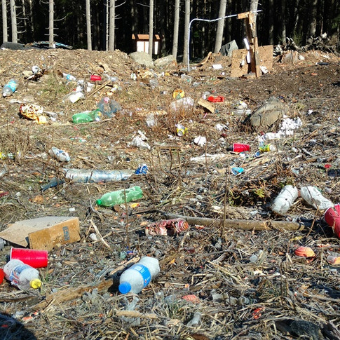 Many Greenwater target shooting sites like a 3rd world country landfill.