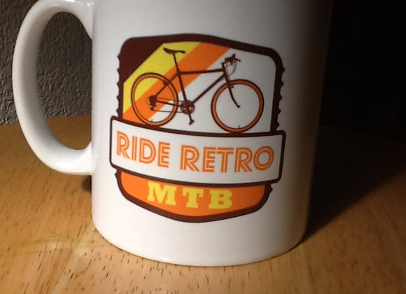 Ride Retro MTB Mug-COMING SOON