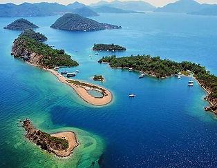 Фетхие острова