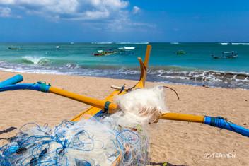 Fisher Boat Kuta Beach