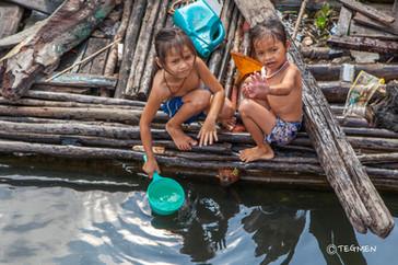 Cambodian Children are Girls