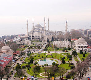 Площадь Султанахмет-Стамбул