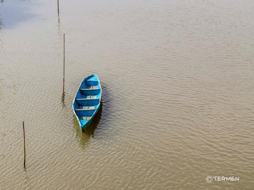Nerul River Old Boat
