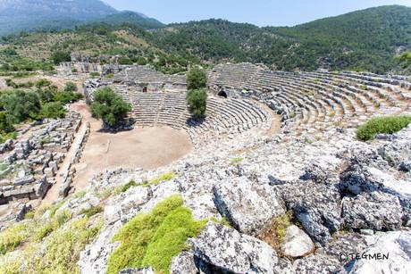 Caunos Theater Ruin