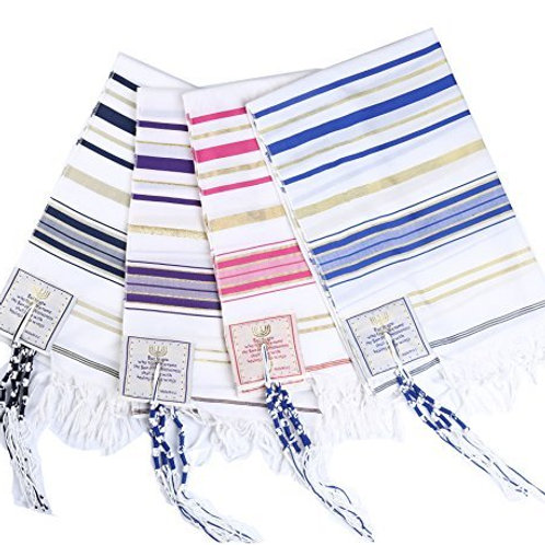 Custom Embroidered Prayer Shawl