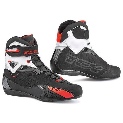 TCX Rush WP boots Black Red White