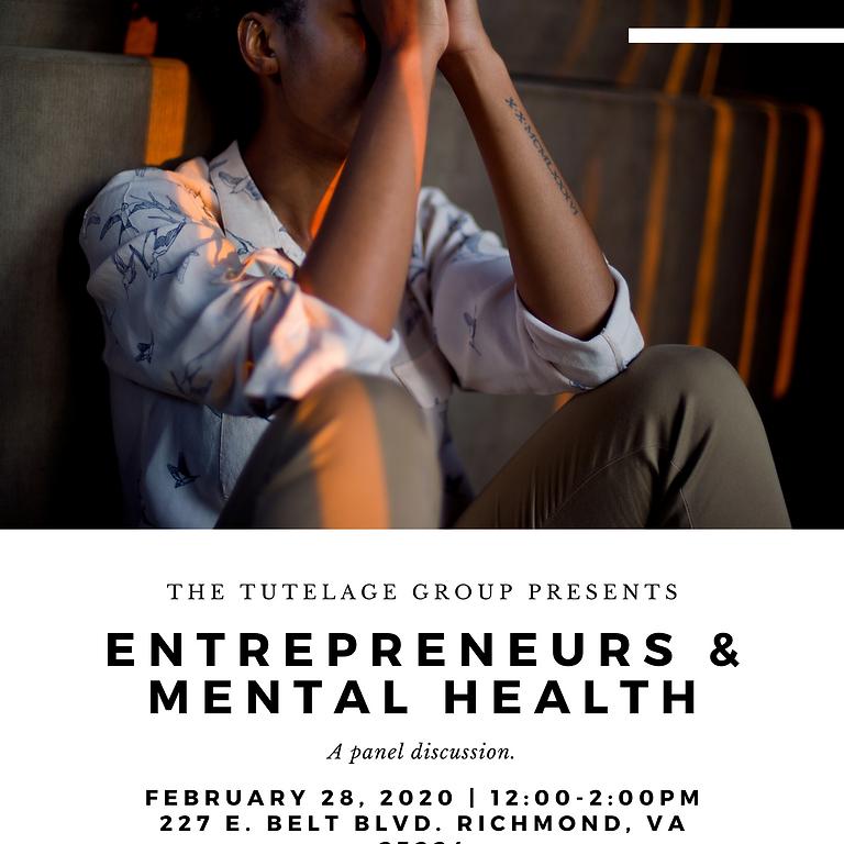 Entrepreneurs and Mental Health