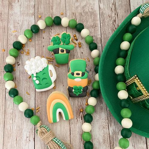 Mini St. Patrick's Day Cookies